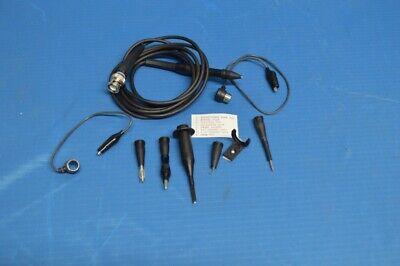 1x 100mhz Oscilloscope Scope Analyzer Clip Probe Test Leads Kit