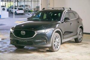 2019 Mazda CX-5 KF4W2A Akera SKYACTIV-Drive i-ACTIV AWD Black 6 Speed Sports Automatic Wagon