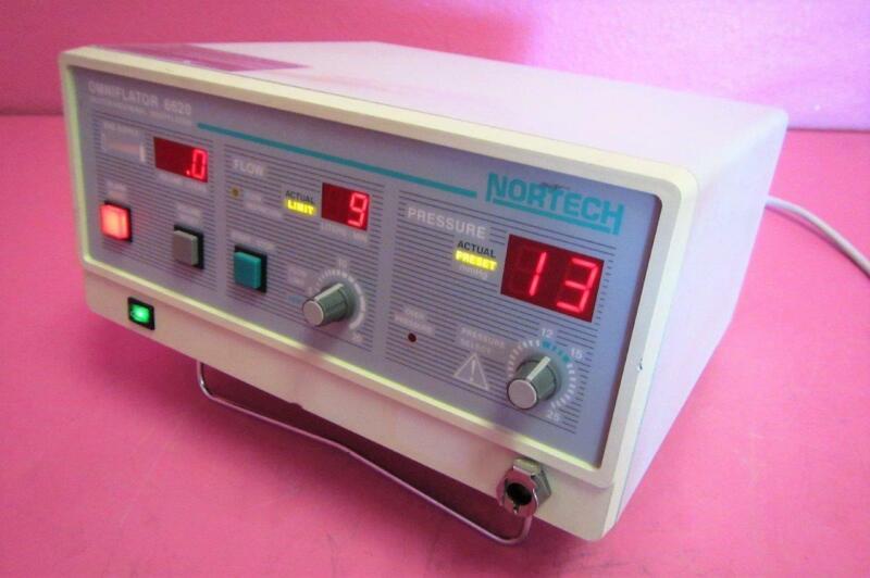 Nortech 6620 Omniflator 20 Liter Abdominal Insufflator Laparoscopic Endoscopy