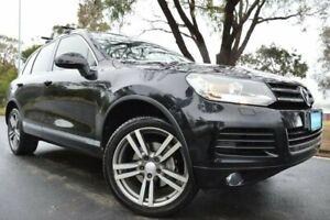 2012 Volkswagen Touareg 7P MY12.5 150TDI Tiptronic 4MOTION Black 8 Speed Sports Automatic Wagon