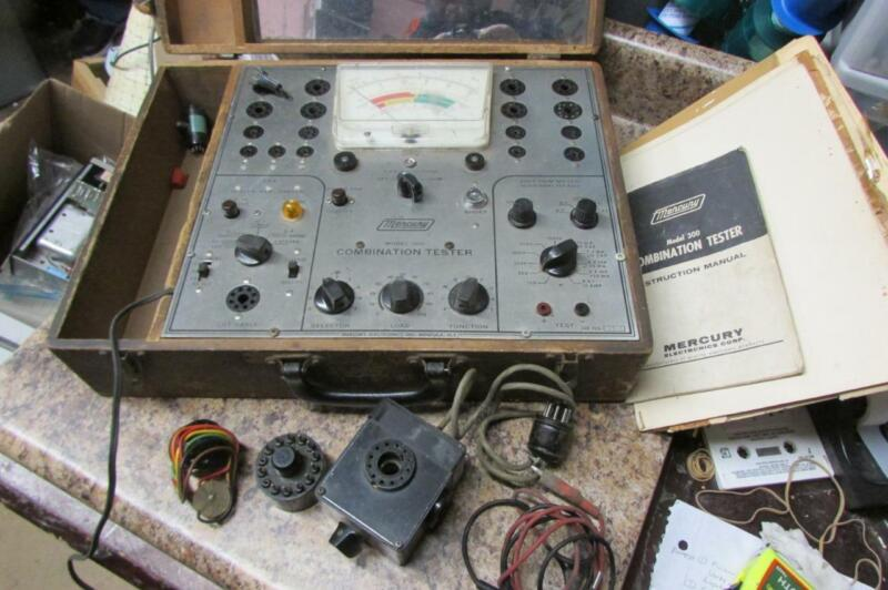 Vintage Mercury Model 300 Combination Tube Tester - As Is, Untested
