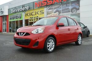2018 Nissan MICRA SV STYLE AUTOMATIQUE A/C MAGS CRUISE BLUETOOTH