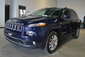 2016 Jeep Cherokee LIMITED TOIT PANORAMIQUE CUIR 8.4 POUCES