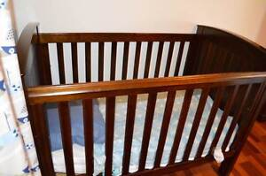 Boori Country Cot/Toddler Bed, Bookcase & Tall Boy/Change Table Farmborough Heights Wollongong Area Preview