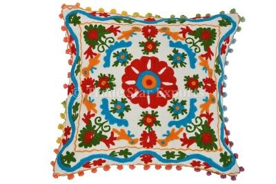 Dekorative Suzani Kissenbezug Mandala Floral Throw Pillow Cases Baumwolle Shams - Dekorative Throw Pillow Kissenbezug