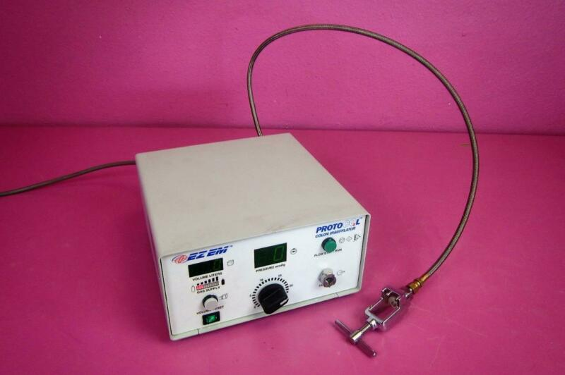 Bracco EZ EM ProtoCO2L 6400 Automatic CO2 Colon Insufflator Colonoscopy w/ Yolk