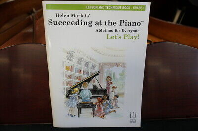 Helen Marlais' Succeeding at the Piano Lesson and Technique Grade 1 for sale  Shipping to South Africa