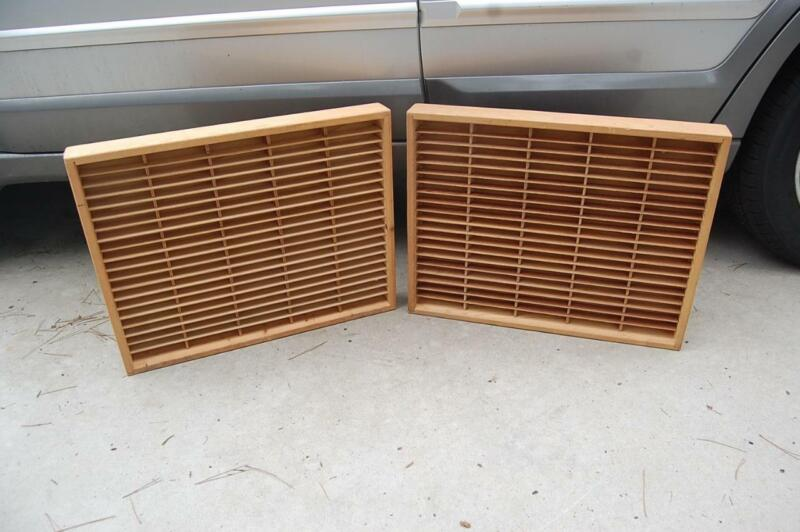 2 Wood Box 100 Slot Cassette Tape Storage Rack 1 Napa Valley