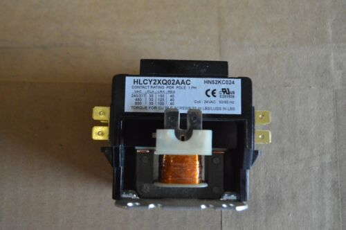 Carrier Magnetic Contactor 24VAC 50/60HZ P/N:HN52KCO24
