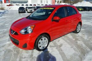 2016 Nissan MICRA SV AUTOMATIQUE, A/C, BLUETOOTH FINANCING AVAIL