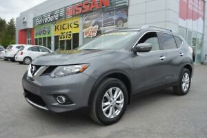 2015 Nissan Rogue SV AWD A/C TOIT PANORAMIQUE CAMERA BLUETOOTH