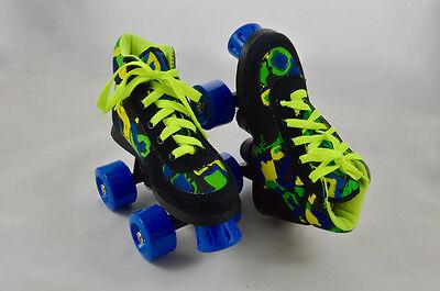 Kinder-Rollschuhe | Disco Roller | Rollerskates | Retro / Bunt | Größen 29,31 ()
