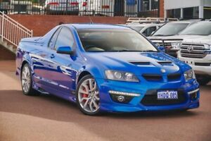 2011 Holden Special Vehicles Maloo E Series 3 R8 Blue 6 Speed Sports Automatic Utility