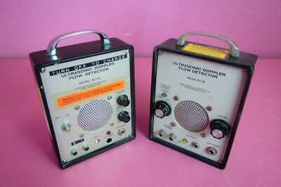 Parks Medical Ultrasonic Doppler Flow Detector 811-b 811 Al Parts Or Repair