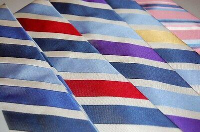 Paul Fredrick ties. New in the Box! Free Shipping! Stripes (Free Box Patterns)