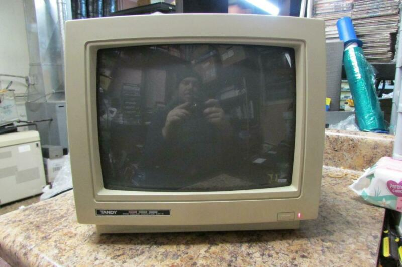 Vintage Tandy RGB Color Monitor Model CM-5