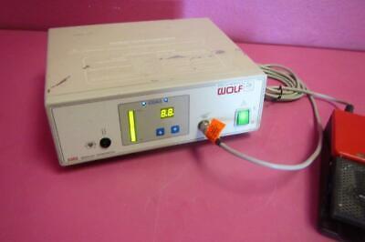 Wolf 2352.011 Electrosurgical Esu Bipolar Generator W Wolf Footswitch
