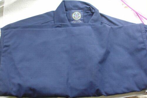New Government Sewing & Apparel Blue US Coast Guard Shirt Men