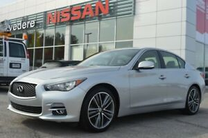 2015 Infiniti Q50 LIMITED AWD 3.7L NAVIGATION