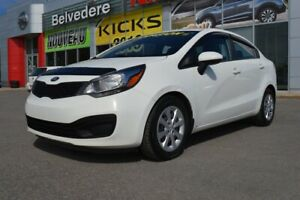 2014 Kia Rio LX + AUTOMATIQUE BANCS CHAUFFANTS BLUETOOTH A/C