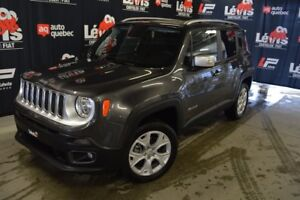 2018 Jeep Renegade LIMITED TOIT PANORAMIQUE GPS