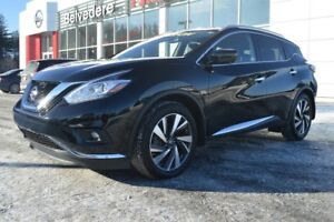 2018 Nissan Murano PLATINUM AWD CUIR TOIT MAGS NAVIGATION