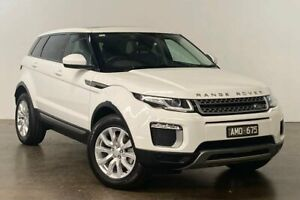 2017 Land Rover Range Rover Evoque L538 MY17 TD4 150 SE White 9 Speed Sports Automatic Wagon South Melbourne Port Phillip Preview