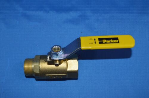 "3/4"" Stop Check Ball Valve - Parker Hannifin -P/N XV501-P12"