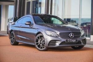 2021 Mercedes-Benz C-Class C205 801MY C200 9G-Tronic Grey 9 Speed Sports Automatic Coupe