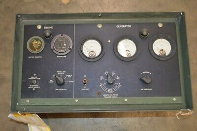Military Generator Distribution Box And Control Panel