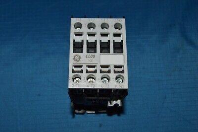 New - Ge Iec Magnetic Contactor Cl00a310tl 208vac Coil Volts 10 Full Load Amps
