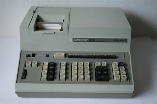 Rare Compucorp 025E Educator Calculator  ****