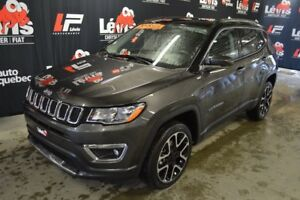 2017 Jeep Compass LIMITED TOIT PANORAMIQUE GPS CUIR