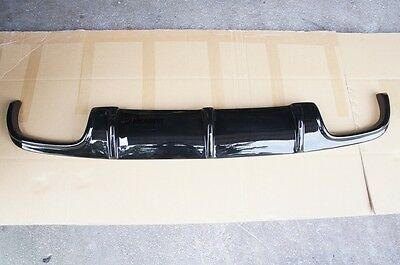 MERCEDES BENZ W211 E63 AMG GLOSS BLACK  REAR BUMPER DIFFUSER 2007-2008, used for sale  Shipping to United States