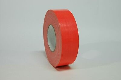 Fluorescent Orange 2 X 60yds Industrial Duct Tape