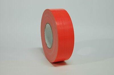 Fluorescent Orange 2 X 60yds Industrial Duct Tape