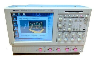 Tektronix Tds5054b Digital Phosphor Oscilloscope Calibrated