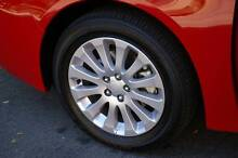 16.5 INCH Subaru wheels and BRAND NEW TYRES (5X100 Stud Pattern) Henley Beach Charles Sturt Area Preview