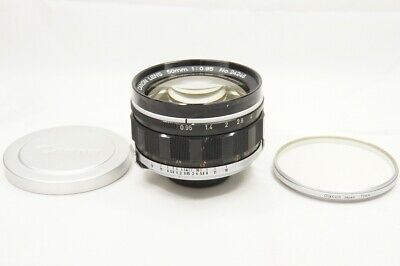 """Rare""  Canon 50mm F0.95 MF Lens for Canon7 7S Rangefinder Mount #200122n"