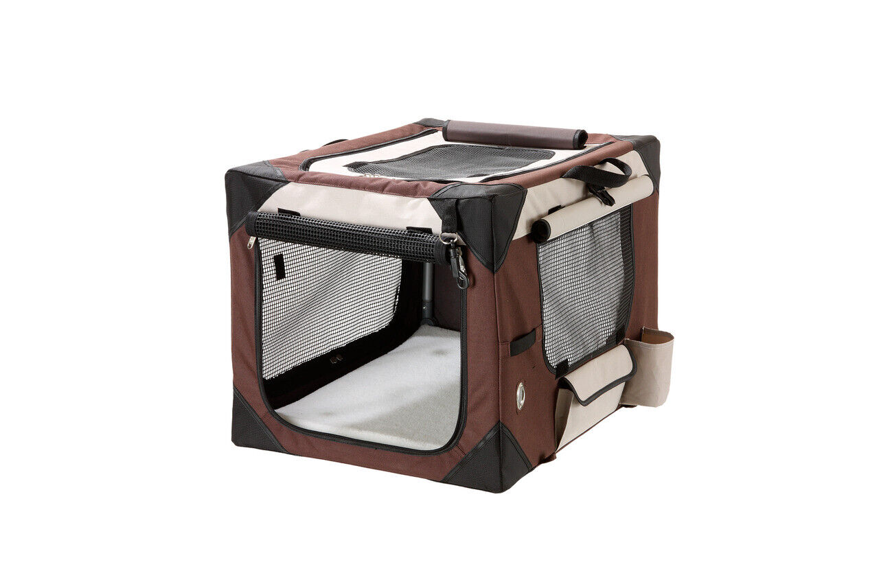Smart Top De Luxe Transportbox Mobilheim Camping Hundebox faltbarer Schlafplatz