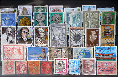 Greece-Lot stamps (ST405)
