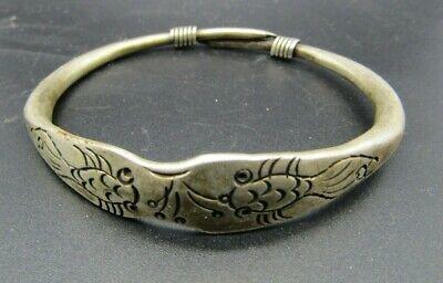 Interesting antique Chinese bracelet with hallmark