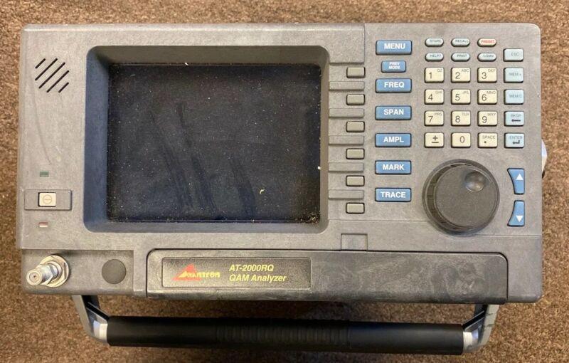Avantron AT2000RQ QAM Spectrum Analyzer