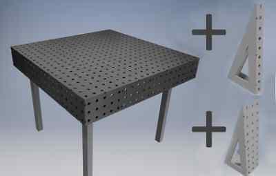Pointez Sur Limage Pour Zoomer Plans-welding-bench-table-fixture-jig-dxf-file-
