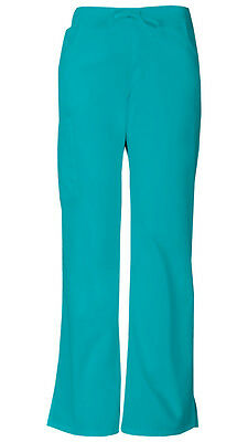 Dickies Scrubs Mid-Rise Women's Cargo Pants 86206 Teal Blue
