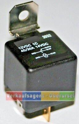 30 , 40 12 Volt Wechselrelais mit Widerstand ohne Halter Ampere, #B-1