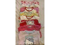 8 pairs of girls pyjamas age 2-3yrs (mainly characters)