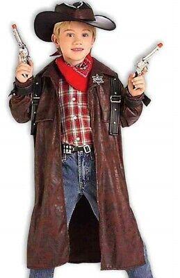Desperado Costume Childs Boys Cowboy Duster Western - Desperado Cowboy Kostüm