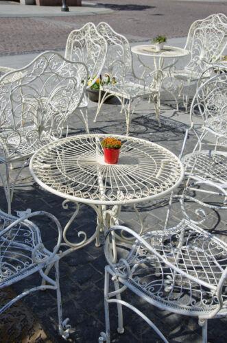 How To Restore Metal Garden Furniture Ebay