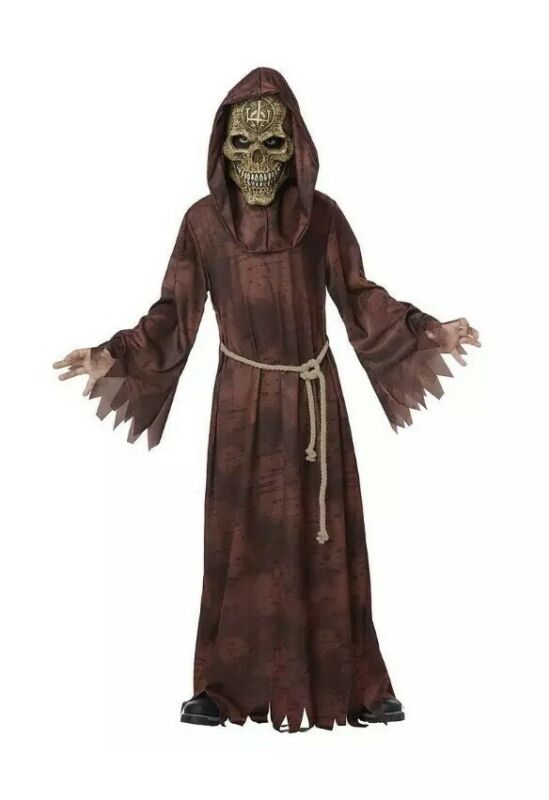 California Costume Totally Ghoul Boys Child ANCIENT REAPER Medium 8-10 Halloween